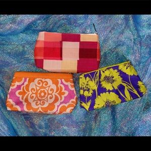 Lot of 3 Clinique Cosmetic Bags